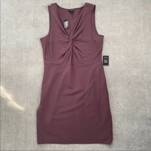 NWT Express Knot Front Dress
